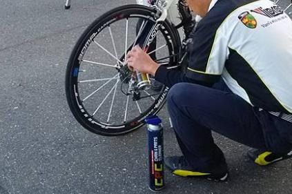 自転車+チェーン